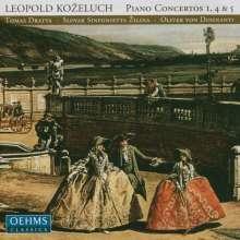 Leopold Kozeluh (1747-1818): Klavierkonzerte Nr.1,4,5 (F-Dur,A-Dur,Es-Dur), CD