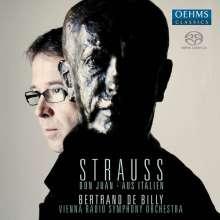 Richard Strauss (1864-1949): Aus Italien op.16, SACD