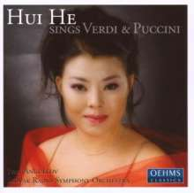 Hui He sings Verdi & Puccini, CD