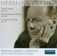 Hermann Zilcher (1881-1948): Lieder, CD
