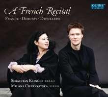 Sebastian Klinger & Milana Chernyavska - A French Recital, CD