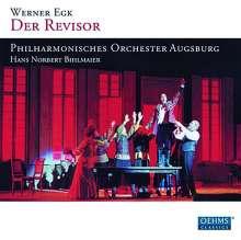 Werner Egk (1901-1983): Der Revisor (Komische Oper in 5 Akten), 2 CDs