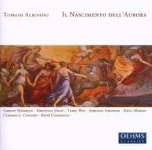 Tomaso Albinoni (1671-1751): Il Nascimento dell'Aurora (Festa Patorale), 2 CDs