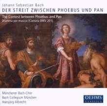 """Johann Sebastian Bach (1685-1750): Kantate BWV 201 """"Phoebus & Pan"""", CD"""