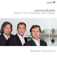 Johannes Brahms (1833-1897): Klaviertrios Nr.1 & 2, CD