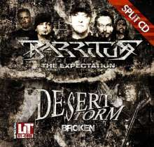 Desert Storm / Barritus: Broken / The Expectation, CD