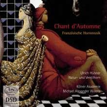 Ulrich Hübner - Chant d'Automne (Französische Hornmusik), SACD