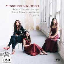 Felicitas & Judith Erb - Sämtliche Duette von Felix Mendelssohn Bartholdy & Fanny Hensel, SACD