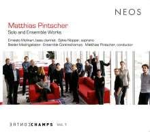 Matthias Pintscher (geb. 1971): Solowerke & Werke für Ensemble, CD