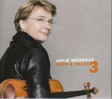 Antje Weithaas - Bach & Ysaye Vol.3, CD