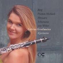 Sabine Grofmeier,Klarinette, CD
