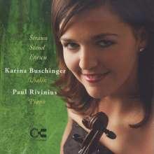 Karina Buschinger & Paul Rivinius, CD