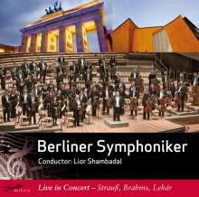Berliner Symphoniker - Live in Concert, CD