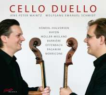 Jens Peter Maintz & Wolfgang Emanuel Schmidt - Cello Duello, CD