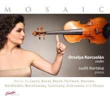 Orsolya Korcsolan & Judit Kertesz - Mosaic, CD