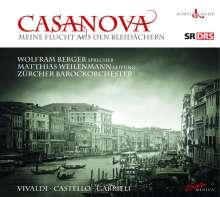 Casanova - Meine Flucht aus den Bleidächern, 2 CDs