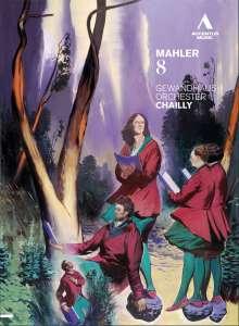 Gustav Mahler (1860-1911): Symphonie Nr.8, DVD