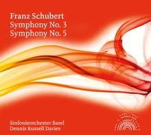 Franz Schubert (1797-1828): Symphonien Nr.3 & 5, CD