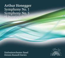 Arthur Honegger (1892-1955): Symphonien Nr.1 & 3, CD