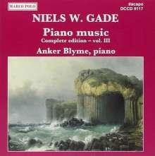 Niels W. Gade (1817-1890): Klavierwerke Vol.3, CD