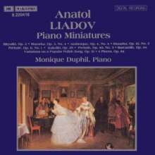 Anatoly Liadow (1855-1914): Klavierwerke, CD