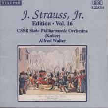 Johann Strauss II (1825-1899): Johann Strauss Edition Vol.16, CD