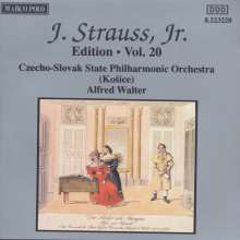 Johann Strauss II (1825-1899): Johann Strauss Edition Vol.20, CD