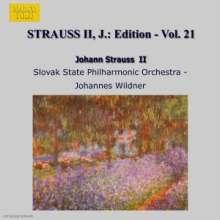 Johann Strauss II (1825-1899): Johann Strauss Edition Vol.21, CD