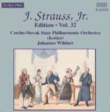 Johann Strauss II (1825-1899): Johann Strauss Edition Vol.32, CD