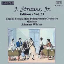 Johann Strauss II (1825-1899): Johann Strauss Edition Vol.33, CD