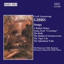 Cecil Armstrong Gibbs (1889-1960): Lieder, CD