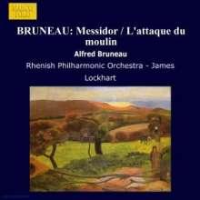 Alfred Bruneau (1857-1934): Orchesterstücke, CD