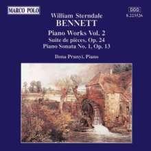 William Sterndale Bennett (1816-1875): Klavierwerke Vol.2, CD