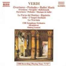 Giuseppe Verdi (1813-1901): Ouvertüren & Vorspiele, CD