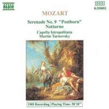 "Wolfgang Amadeus Mozart (1756-1791): Serenade Nr.9 ""Posthorn"", CD"