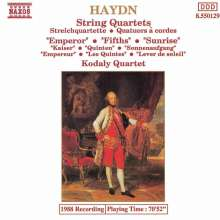 Joseph Haydn (1732-1809): Streichquartette Nr.76-78 (op.76 Nr.2-4), CD