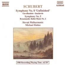 Franz Schubert (1797-1828): Symphonien Nr.5 & 8, CD