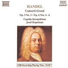 Georg Friedrich Händel (1685-1759): Concerti grossi op.6 Nr.4-6, CD