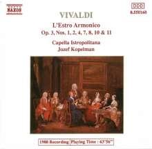 Antonio Vivaldi (1678-1741): Concerti op.3 Nr.1,2,4,7,8,10,11, CD