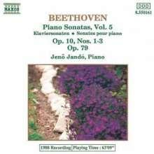 Ludwig van Beethoven (1770-1827): Klaviersonaten Nr.5-7,25, CD