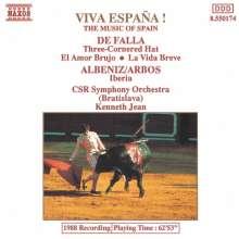 Manuel de Falla (1876-1946): Der Dreispitz - Suiten Nr.1 & 2, CD