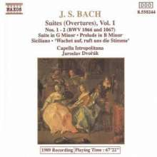 Johann Sebastian Bach (1685-1750): Suiten 1+2/Suite In G/+, CD