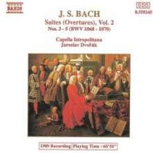 Johann Sebastian Bach (1685-1750): Orchestersuiten Nr.3 & 4, CD