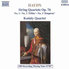 Joseph Haydn (1732-1809): Streichquartette Nr.75-77 (op.76 Nr.1-3), CD