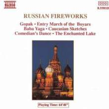 Russian Fireworks, CD