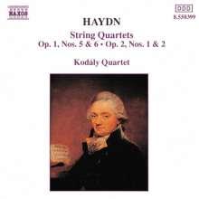 Joseph Haydn (1732-1809): Streichquartette Nr.5-8, CD