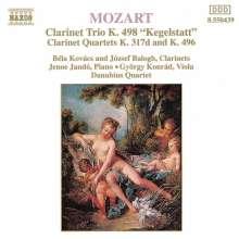 Wolfgang Amadeus Mozart (1756-1791): Klarinettenquartette KV 317d & 496, CD