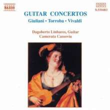 Antonio Vivaldi (1678-1741): Gitarrenkonzerte RV 82,93,532, CD