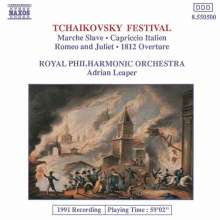 Peter Iljitsch Tschaikowsky (1840-1893): Orchesterwerke, CD