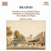 Johannes Brahms (1833-1897): Variationen op.21 Nr.1 & 2, CD